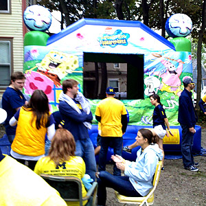 Wolverines tailgate