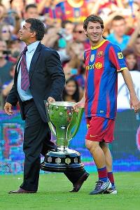 Joan Laporta Lionel Messi