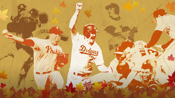 The MLB postseason has provided us with unbelievable drama from games that will always be remembered.