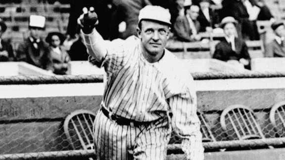 Christy Mathewson, who won 373 games during his Hall of Fame career, turned in perhaps the greatest single-series pitching performance in World Series history.