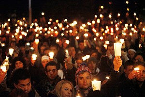 Penn State Vigil