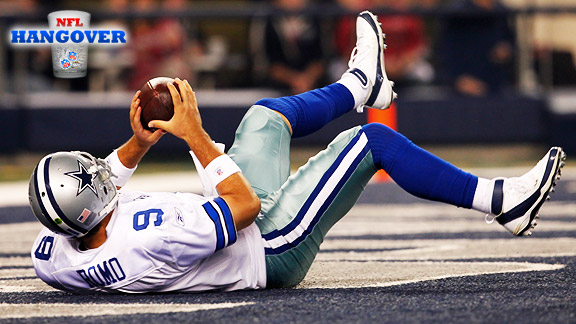 Tony Romo NFL Hangover
