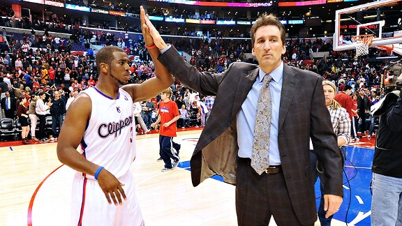 Chris Paul and Vinny Del Negro