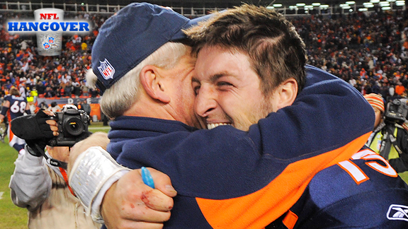 Tim Tebow, John Fox
