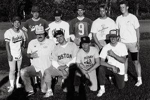 Widows softball team