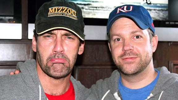 Jon Hamm and Jason Sudeikis