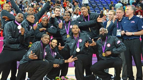 Chris Paul and Team USA