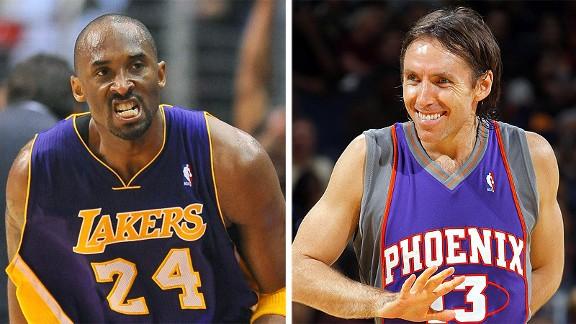 Kobe Bryant and Steve Nash