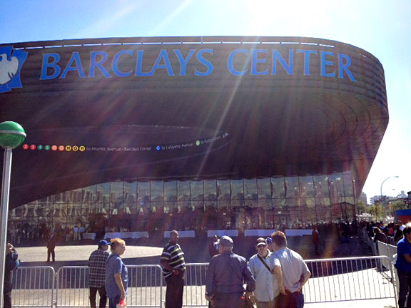 Barclays Center exterior