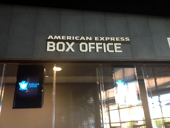 Barclays Box office