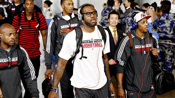 061b57ef0b99b Would James ever leave the NBA for China  - Miami Heat Index- ESPN