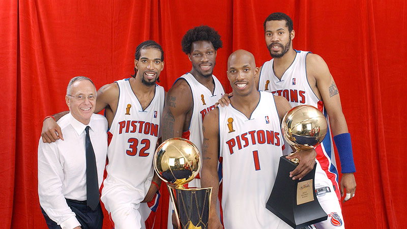 Rasheed Wallace says 2003-04 Detroit Pistons would 'run through ...