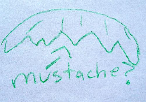 Joel Quenneville mustache sketch