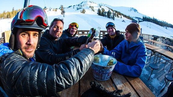Mammoth Mountain crew