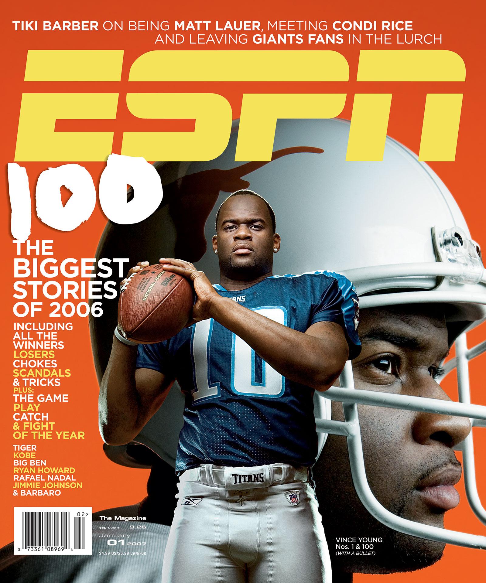 Espn The Magazine 2007 Covers Espn
