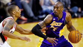 Kobe Bryant, Damian Lillard