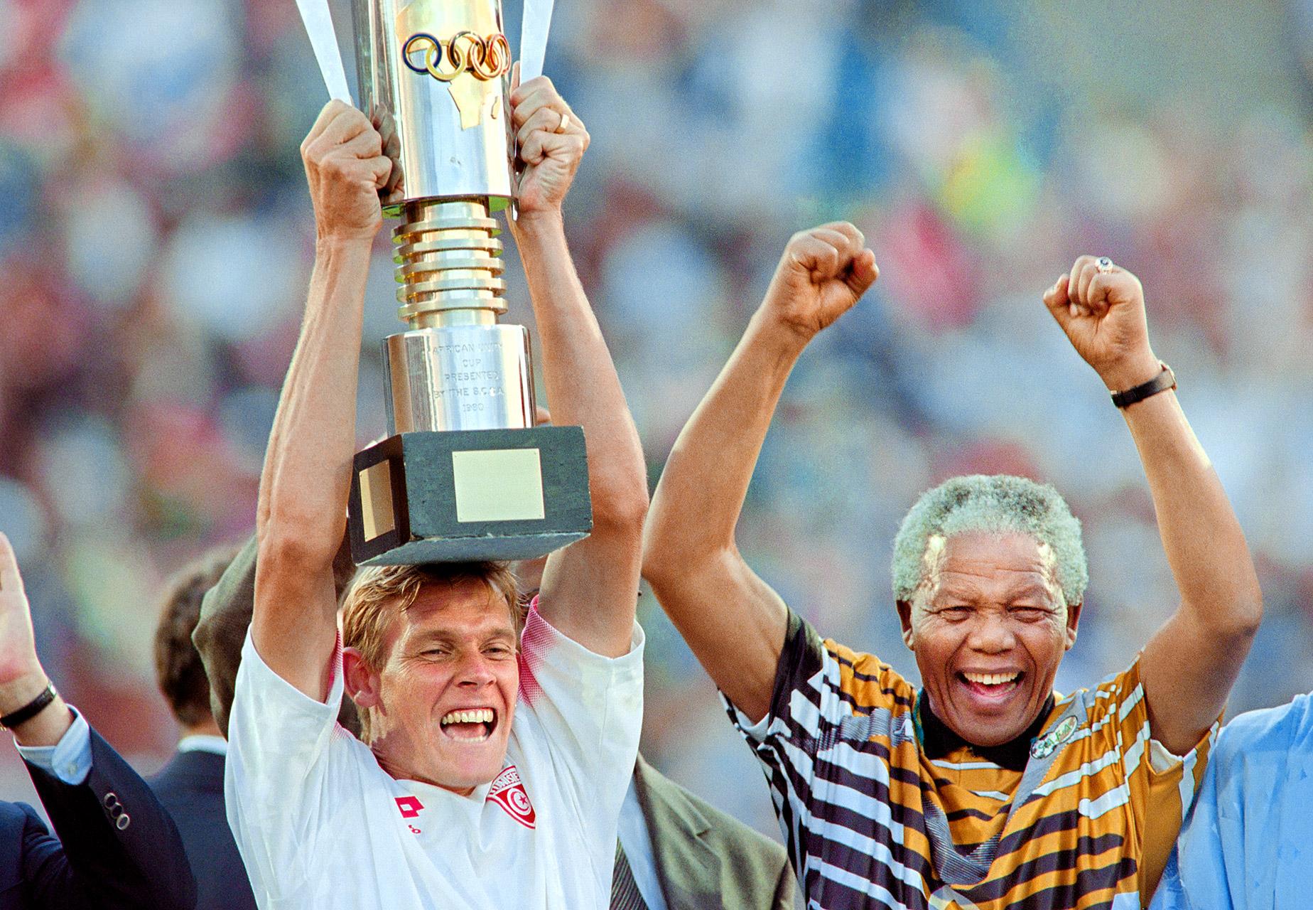 Neil Tovey and Nelson Mandela - Nelson Mandela - ESPN