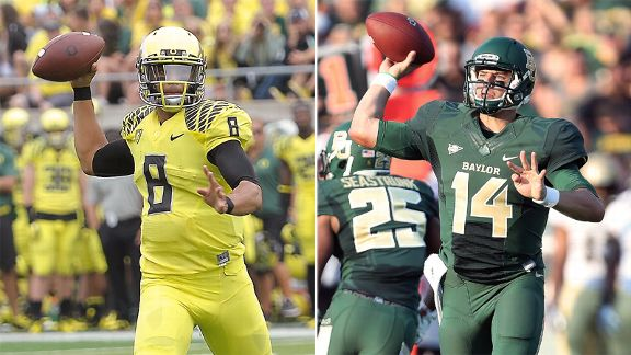 Stats To Know Baylor Oregon Are Amazing Stats Info Espn