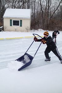 Buccigross' outdoor rink