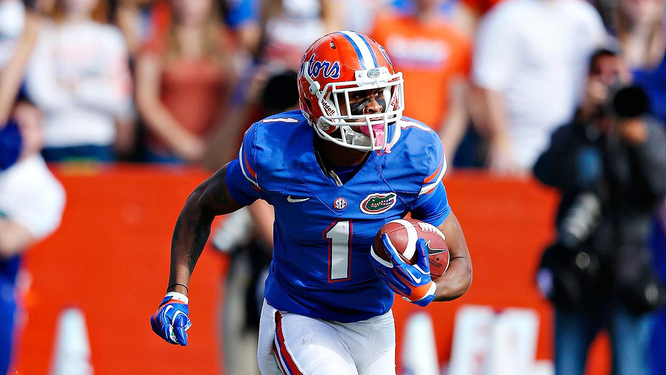 C.J. Worton Florida Gators Football Jersey - Blue
