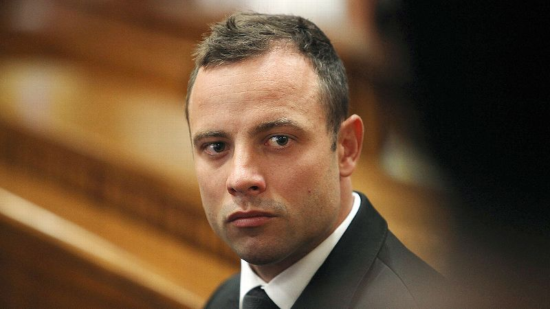 Pistorius: Girlfriend died in my arms | abc7 com