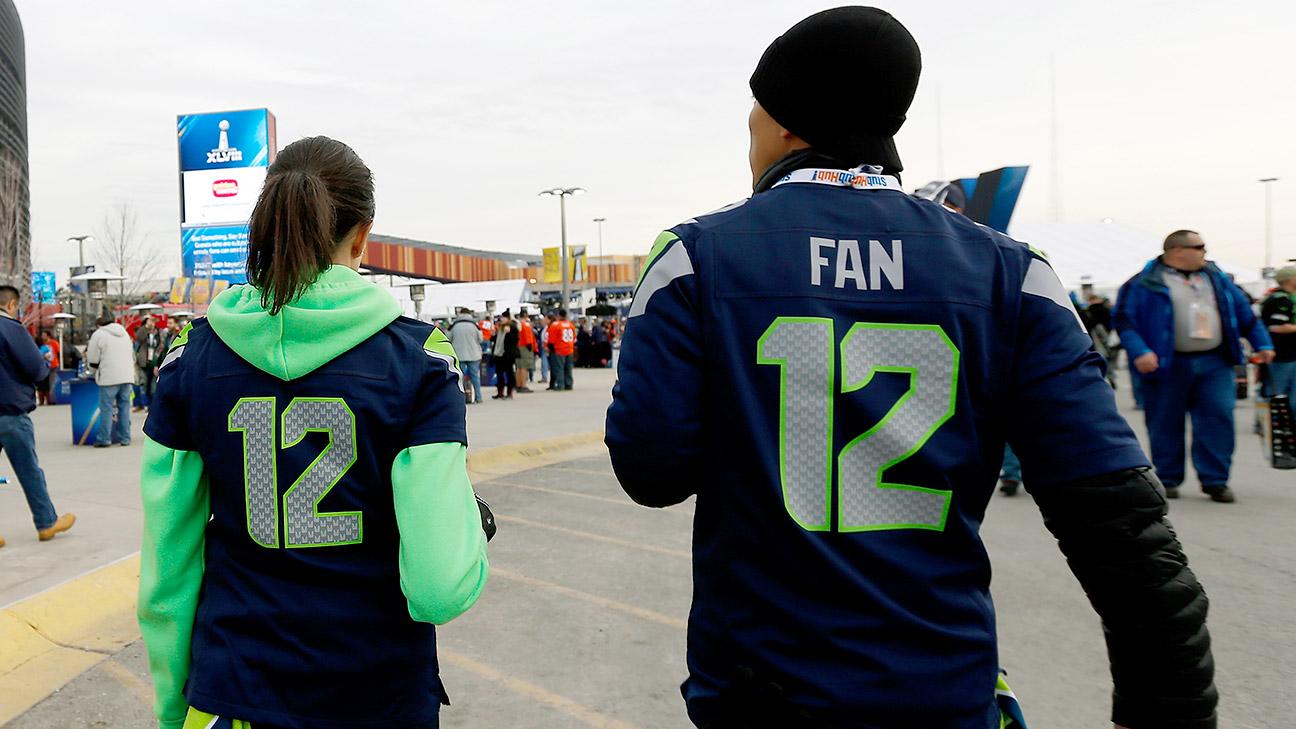 Seattle Seahawks '12th Fan' climbs to 10th among best-selling jerseys