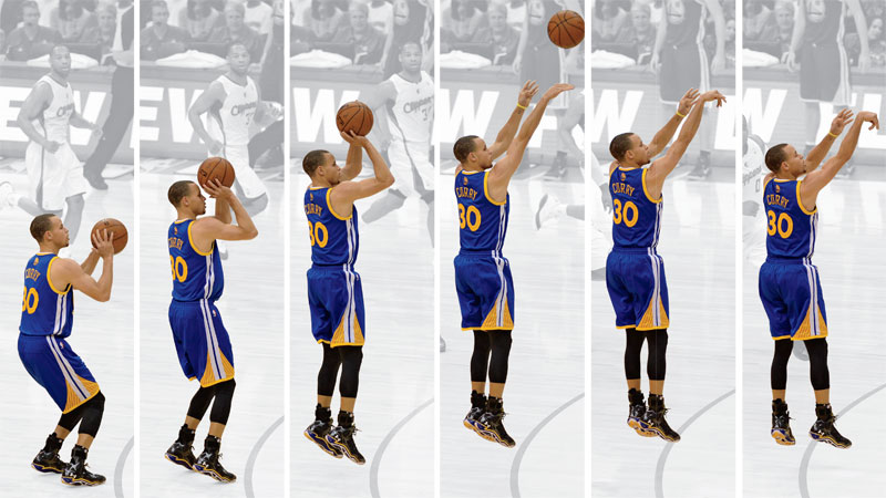 Golden State Warriors Stephen Curry Is Reinventing Shooting Espn The Magazine