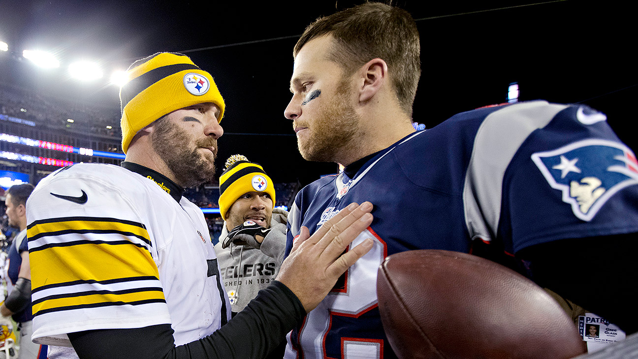 Ben Roethlisberger asks Tom Brady for his jersey to hang in his ...