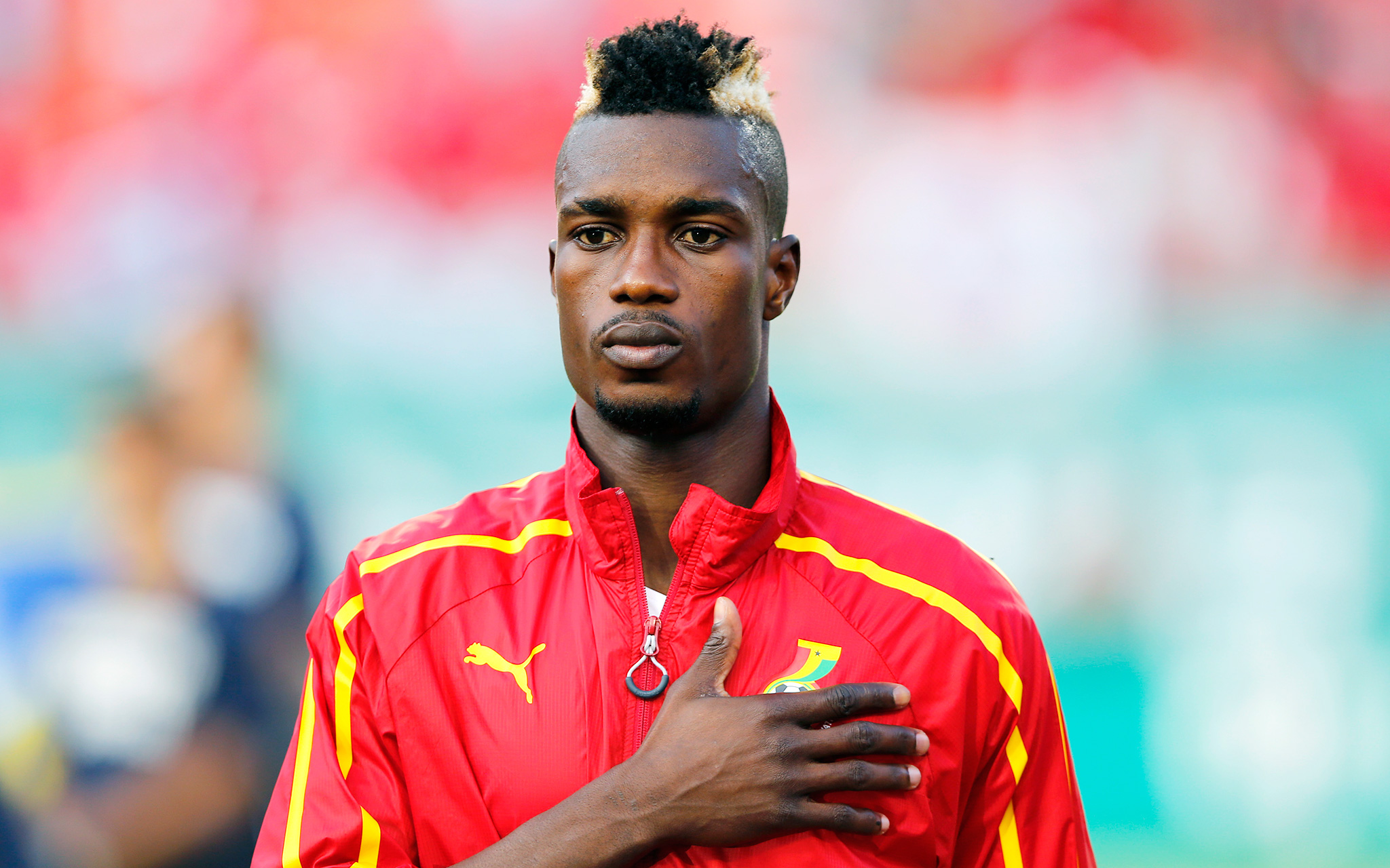 John Boye Ghana World Cup Hair Espn