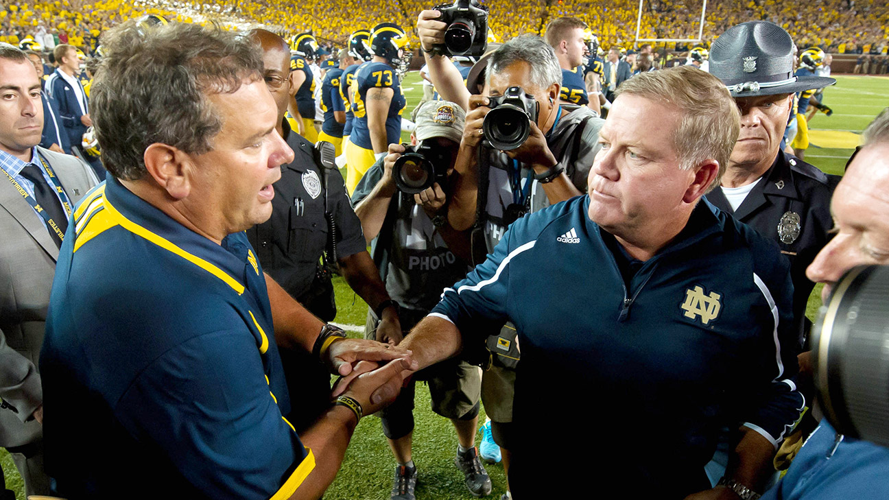 The gloriously petty history of Michigan-Notre Dame  3581bf129