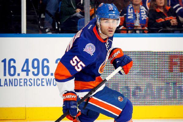 Eye injury ends career of Islanders D Boychuk