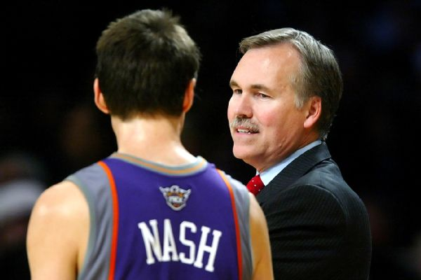Sources: D'Antoni to join Nash's staff in Brooklyn