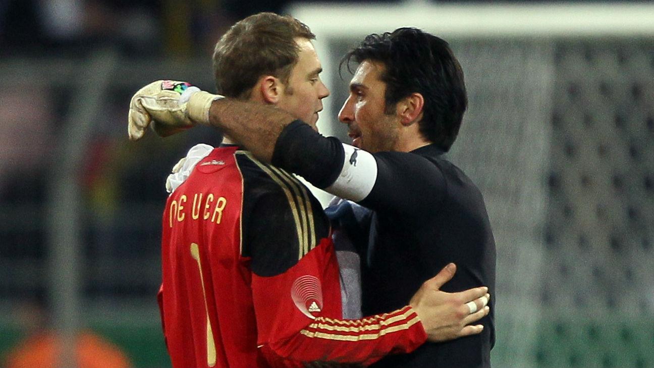 Germany star Manuel Neuer unlikely to win Ballon d'Or according to Gianluigi Buffon