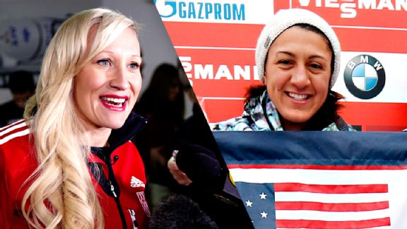 Kaillie Humphries, Elana Meyers Taylor