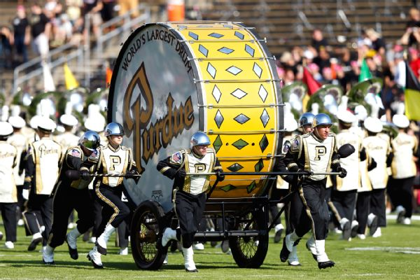 Purdue to feature barred drum outside ND stadium