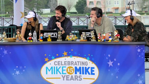 Mike & Mike 15th Anniversary, wives