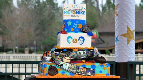 Mike & Mike 15th Anniversary, cake