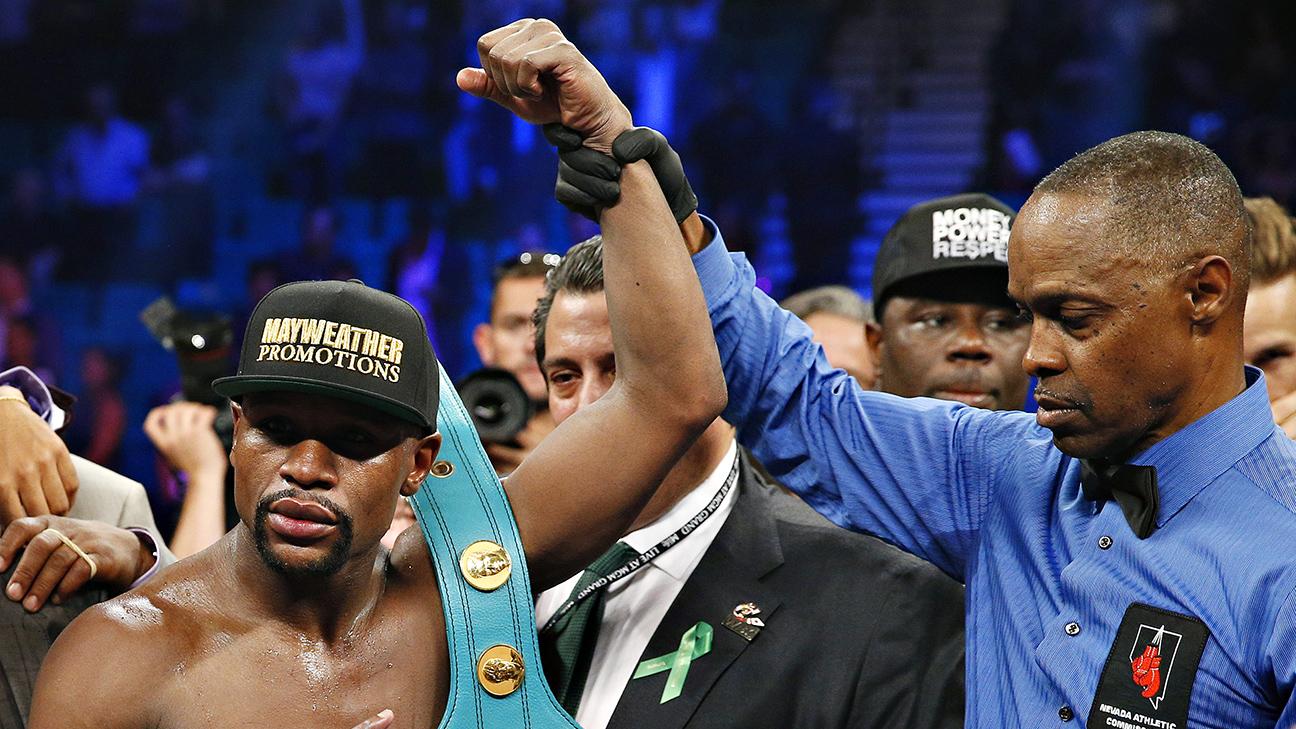 MGM Grand Room KEY Casino LAS VEGAS Boxing Fight MAYWEATHER vs BERTO