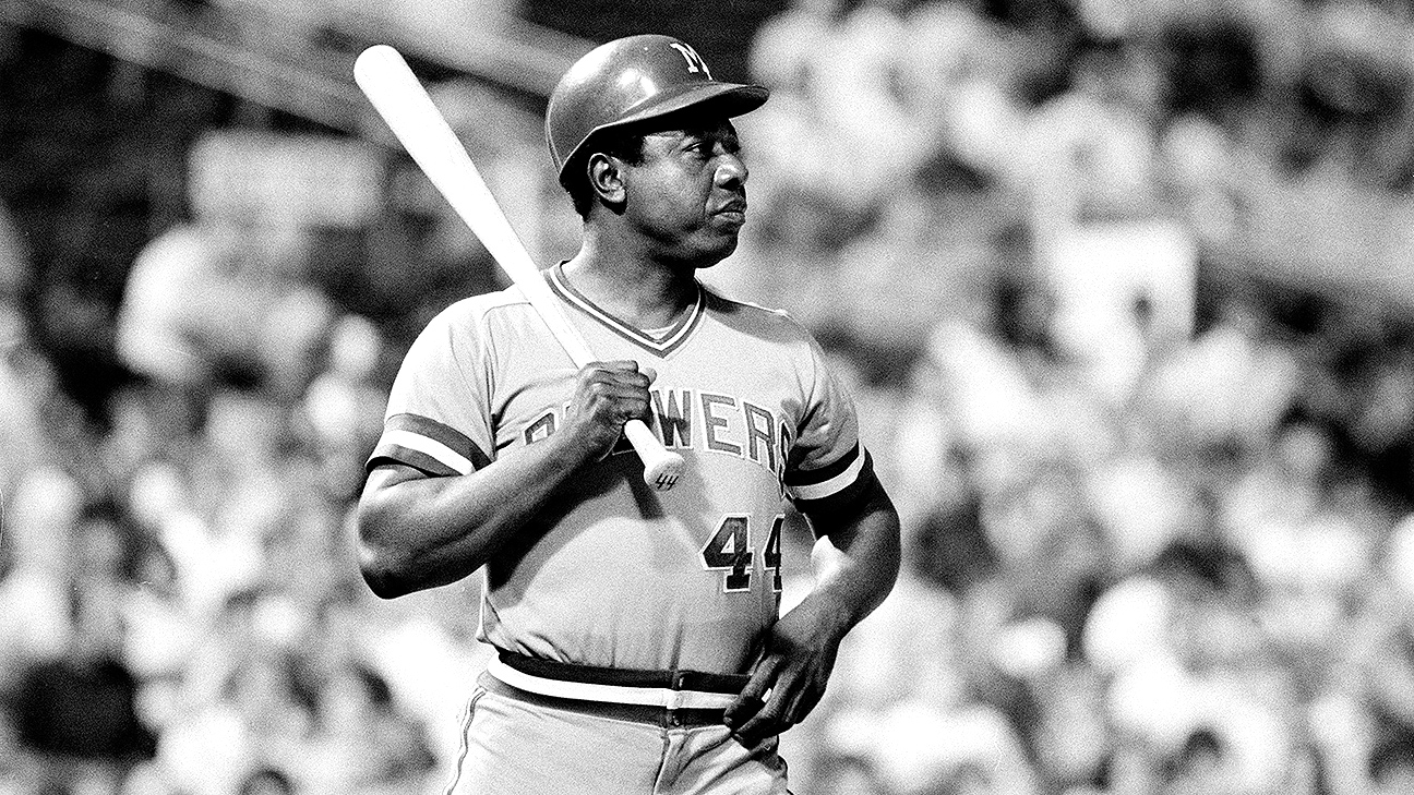 Hank Aaron hits his 755th and final home run, 44 years ago