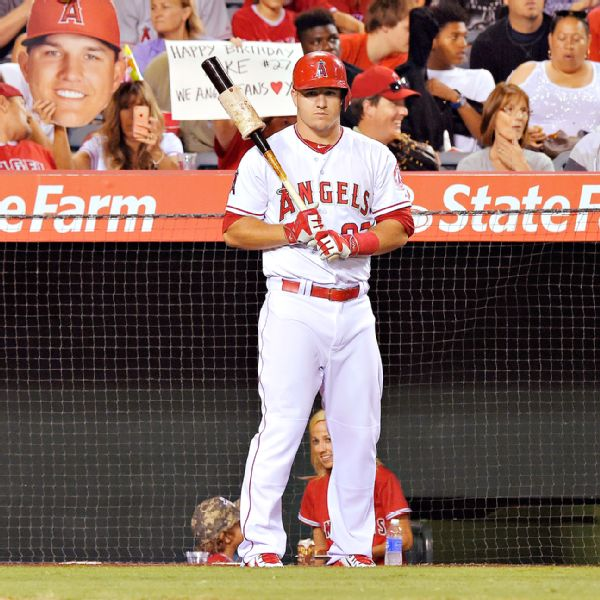 Mike Trout Stats, News, Pictures, Bio, Videos - Los Angeles
