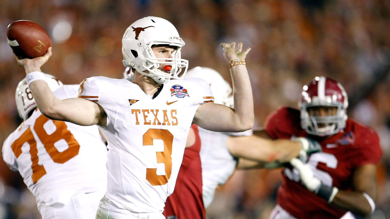 How Texas Longhorns Qbs Became Most Mismanaged Position In College Football