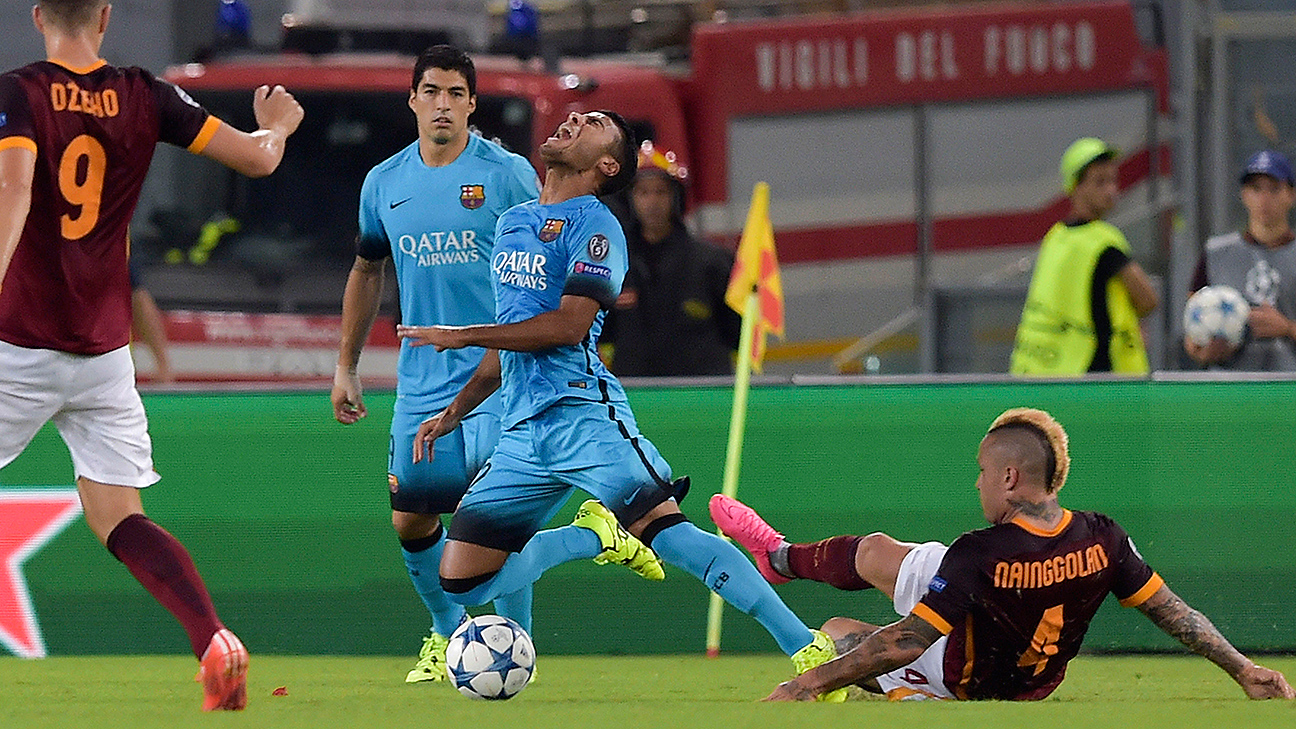Rafinha injury 'very ugly' says Barcelona boss Luis Enrique