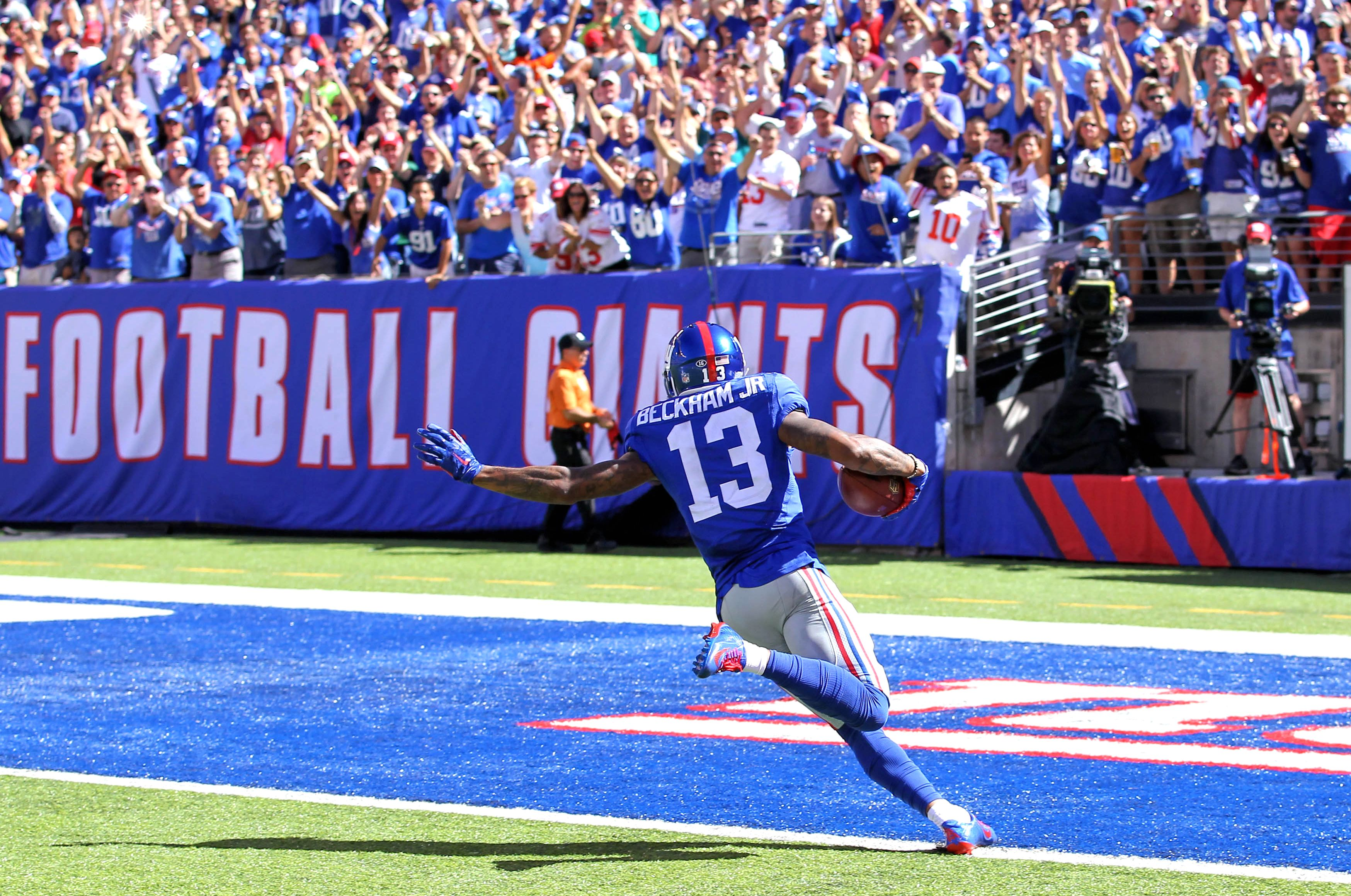 Odell Beckham Jr. - Best NFL Photos from Week 2 - ESPN