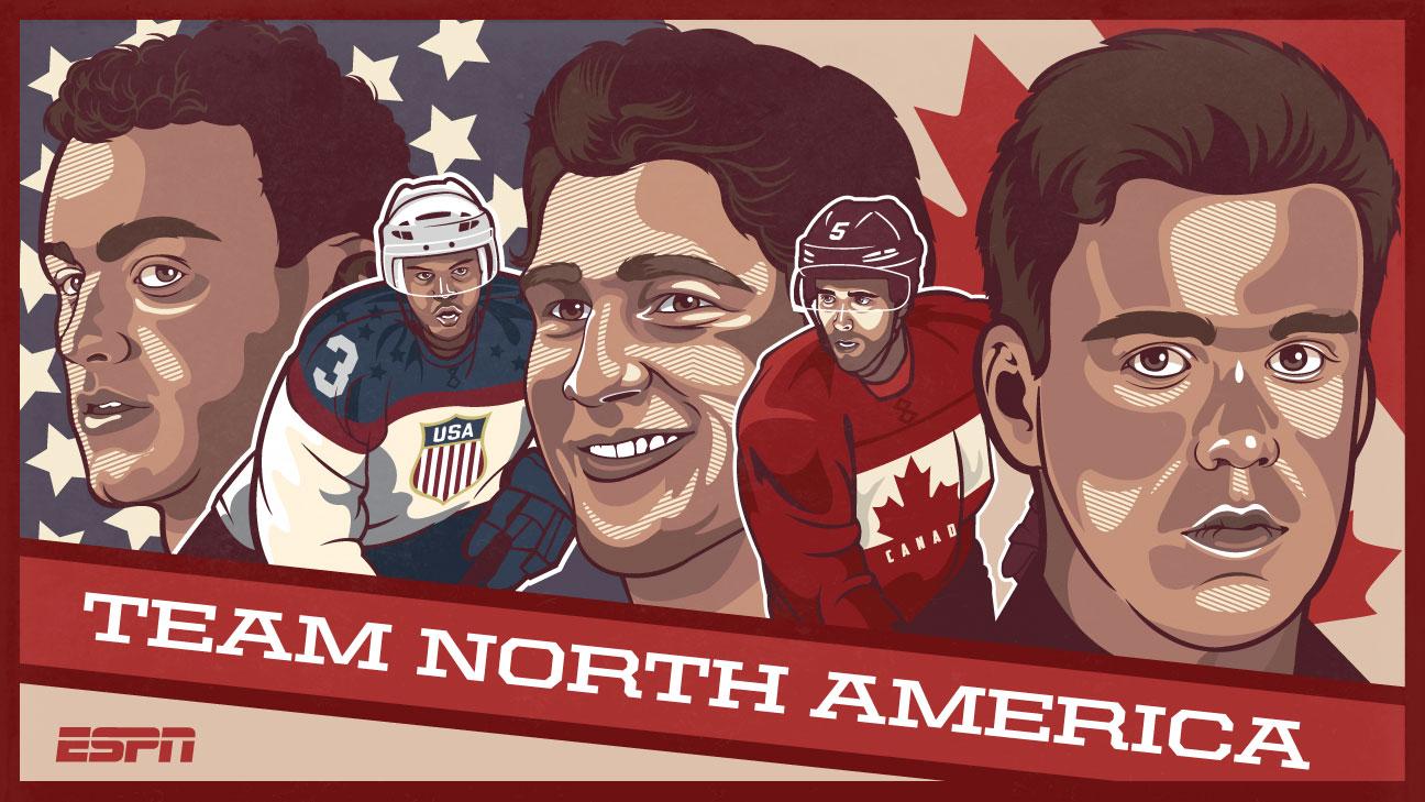 nhl team north america jersey