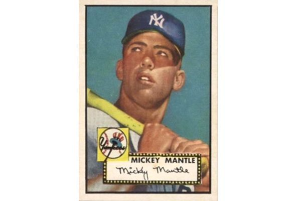 1952 Mickey Mantle Card By Topps Sells For Near Record 288m