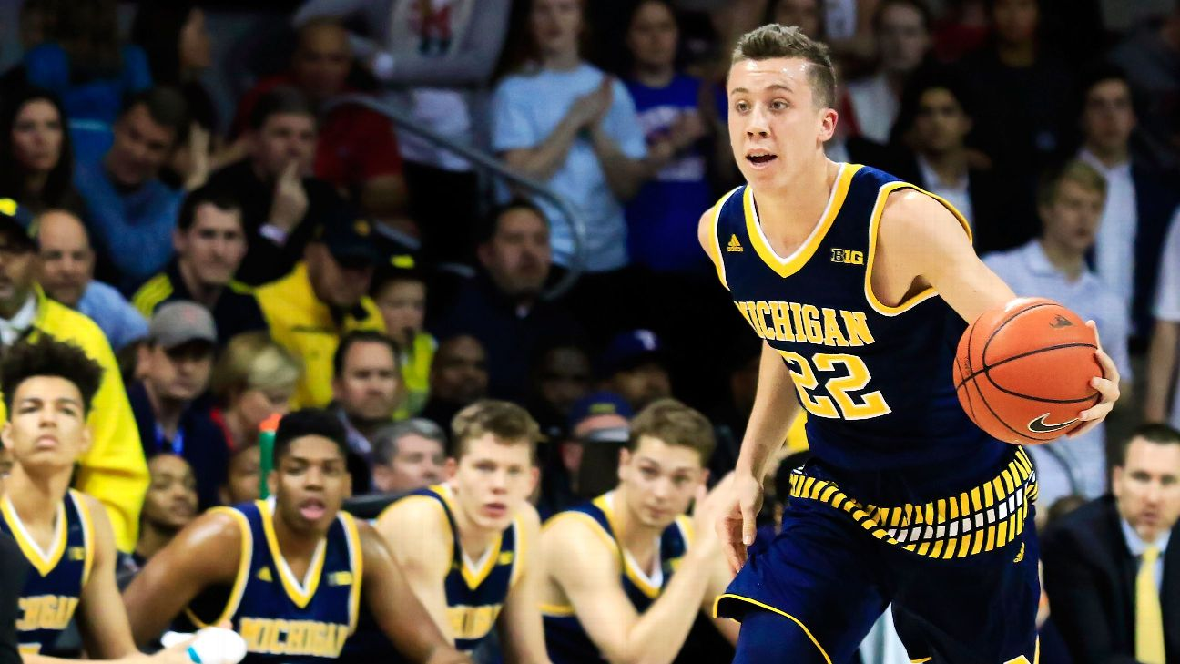 Michigan Wolverines Duncan Robinson Completes Improbable Transition From Division Iii To Division I