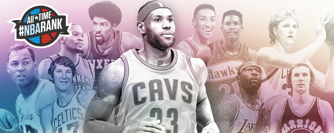 All-Time #NBArank: The greatest players ever