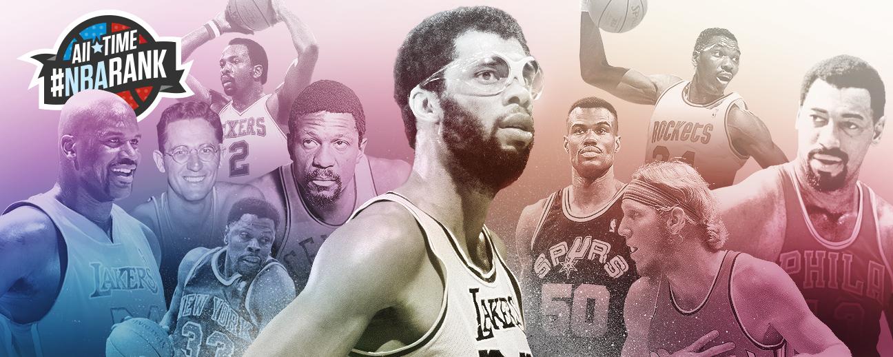 357fdb18e62 Top 10 centers. All-Time #NBArank: The 10 greatest ...