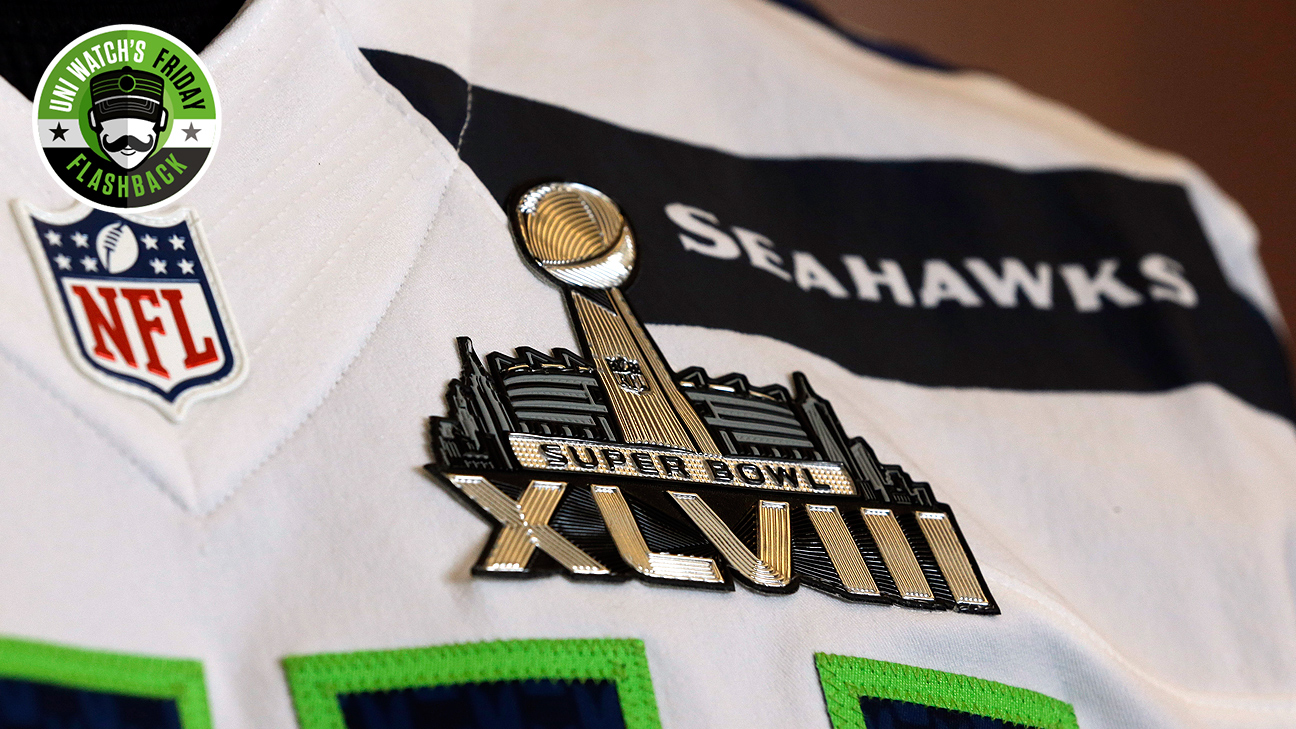 Uni Watch's Friday Flashback -- Humble Super Bowl patches have ...