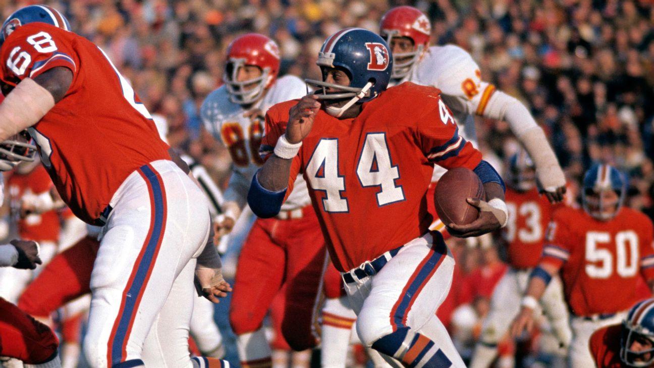Muere Floyd Little, leyenda de los Broncos de Denver, a los 78 años de edad